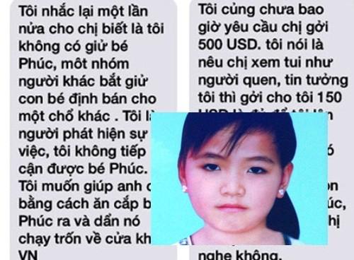 """Tiết lộ động trời từ """"người tống tiền"""" vụ """"Bé gái mất tích ở Việt Nam, thi thể ở Campuchia"""""""