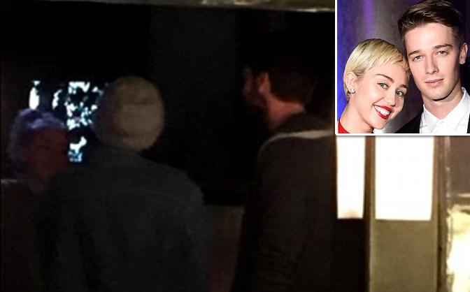 Miley Cyrus và bạn trai hẹn hò ăn tối, hôn nhau sau scandal