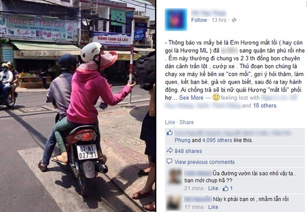 """Nhân viên quán kem đi phát voucher bức xúc vì bị chụp ảnh vu oan là Hương """"mắt lồi"""""""