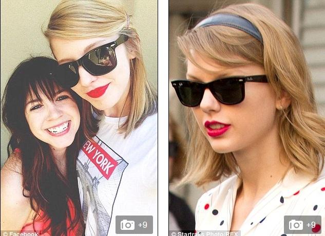 """Dân mạng phát cuồng vì cô gái """"sao y bản chính"""" của Taylor Swift"""