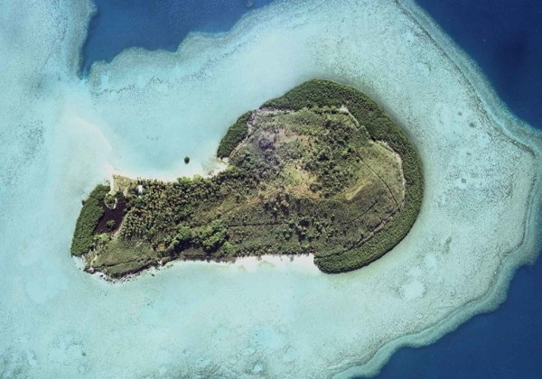 Hòn đảo có hình dáng nhạy cảm