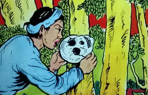 Truyện cổ tích biến tấu 'sọ dừa' thành 'sọ người'
