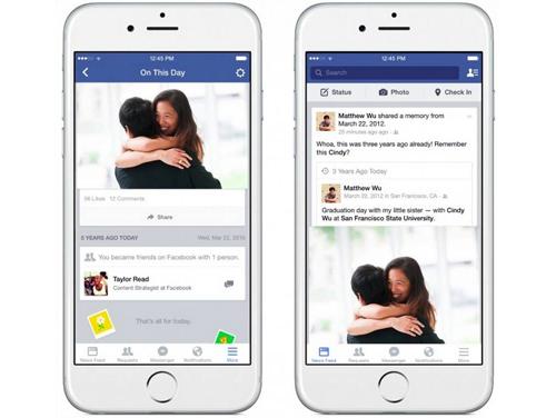 Ngược dòng thời gian với 'ngày này năm xưa' của Facebook
