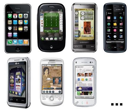 16 điện thoại từng được xem sẽ hủy diệt iPhone