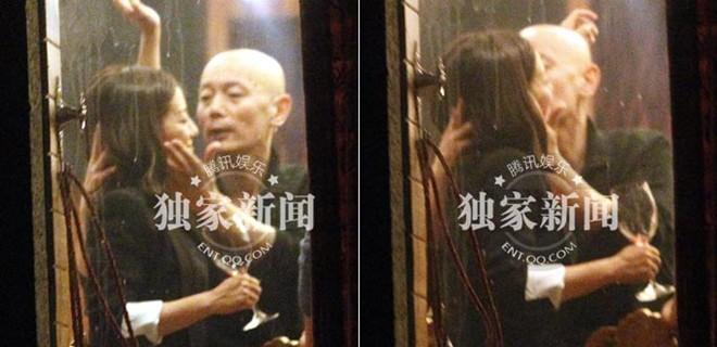 Triệu Vy say rượu bị 'cưỡng hôn'