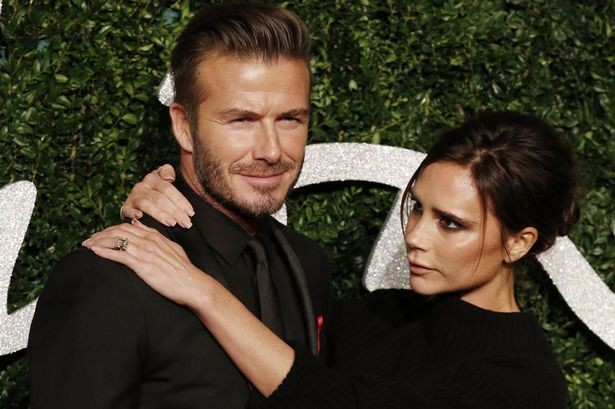 Beckham bị vợ cấm hôn vì không chịu cạo râu
