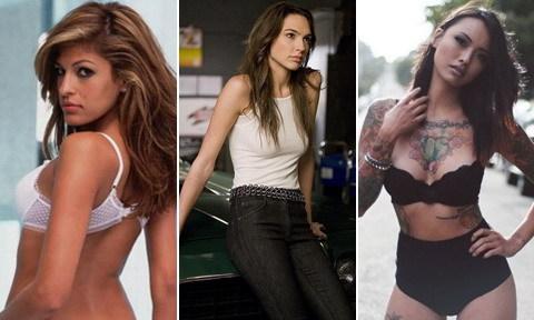 12 mỹ nhân nóng bỏng của loạt phim 'Fast & Furious'