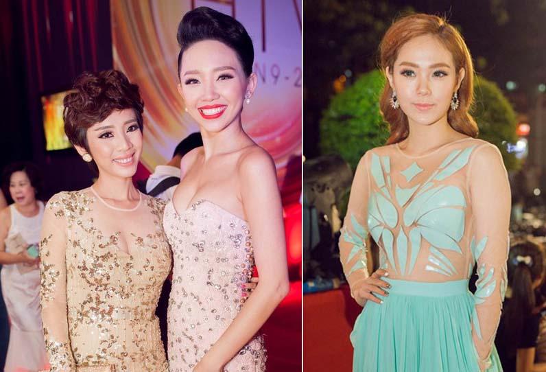 Dàn mỹ nhân Việt lộng lẫy trên thảm đỏ HTV Awards