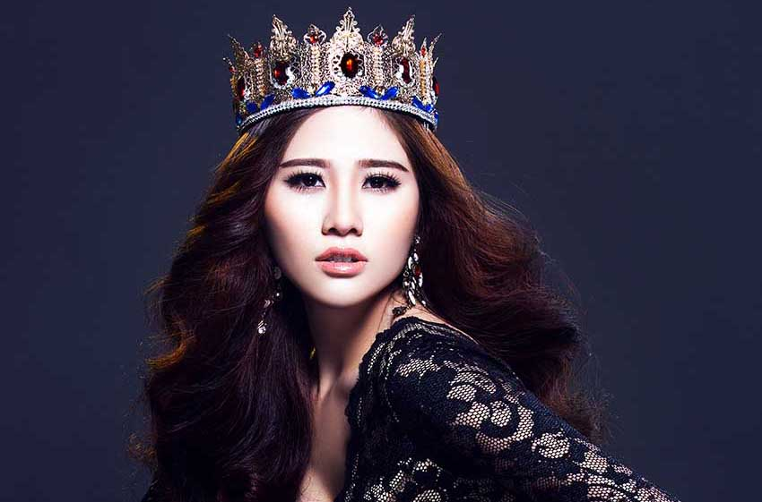 Người đẹp Hoàng Hạnh lên ngôi nữ hoàng với váy xẻ xuyên thấu của Tommy Nguyễn