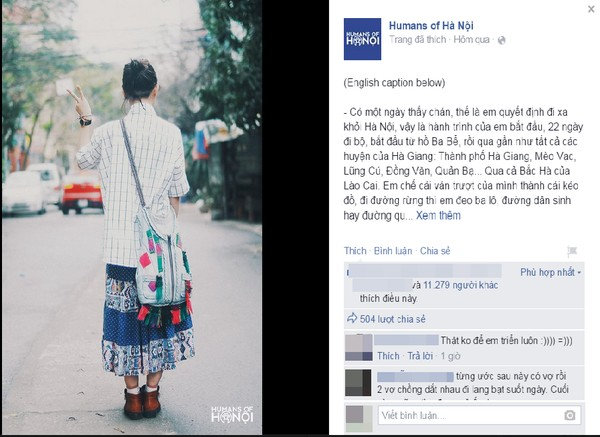 """""""Hành trình đi bộ 22 ngày"""" từ Hà Nội lên Lào Cai của cô gái trẻ gây bão MXH"""