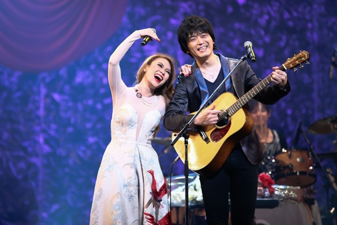 Mỹ Tâm hát 'Ước gì' cùng khán giả Nhật Bản