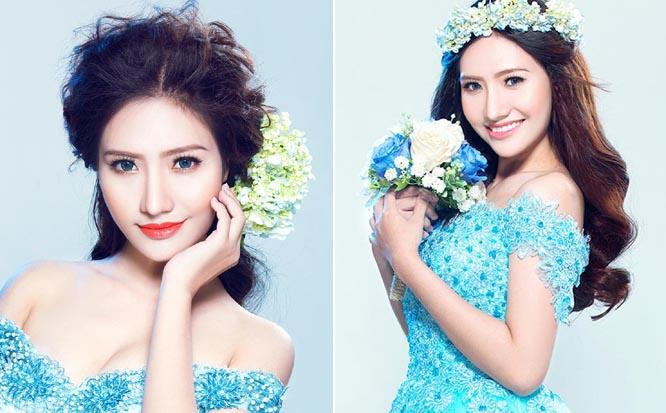 Á khôi Thời trang Dương Hiểu Ngọc long lanh với váy sequin Tommy Nguyễn
