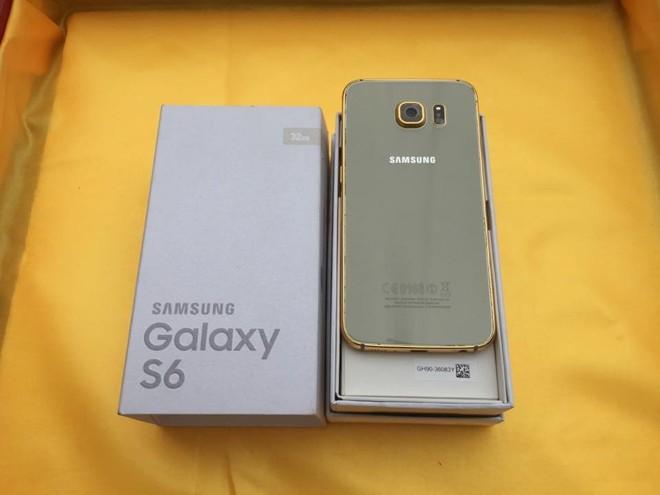 Mạ vàng Galaxy S6 giá 8 triệu tại Việt Nam