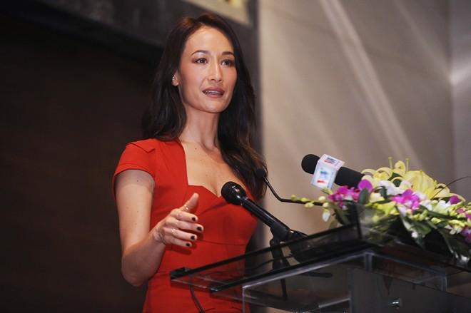 Maggie Q thấy xấu hổ khi người Việt tiêu thụ sừng tê giác