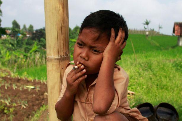 Kinh hãi cậu bé 7 tuổi hút 16 điếu thuốc/ngày