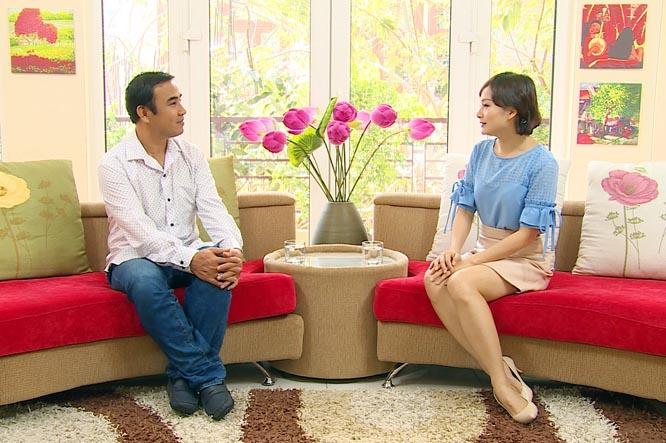 Nghệ sĩ Lan Phương chia sẻ đời tư với khán giả truyền hình