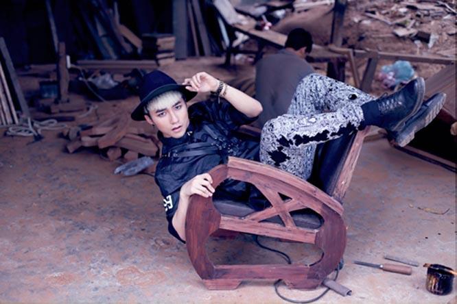 """Phong cách thời trang """"quái-lạ"""" của Sơn Tùng M-TP"""