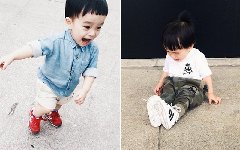 """""""Chết ngất"""" với style yêu không chịu nổi của em bé 17 tháng tuổi người Việt"""