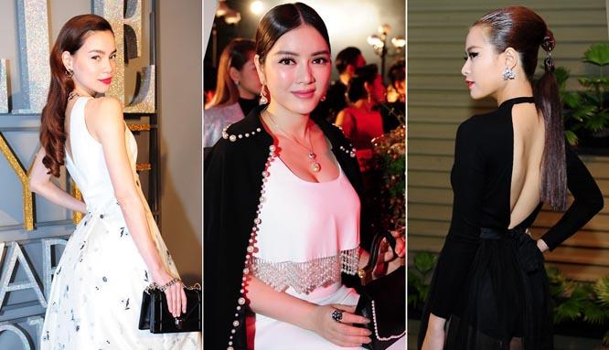 Dàn sao Việt khoe dáng trên thảm đỏ Elle Awards