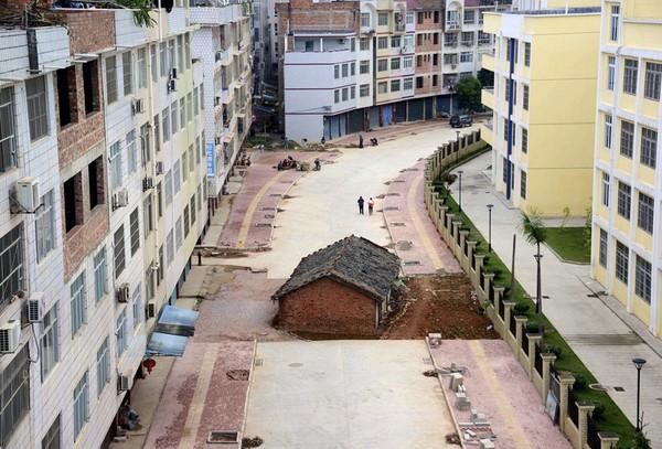"""Những căn nhà """"chẳng giống ai"""" ở Trung Quốc"""