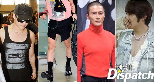 Phong cách thời trang kỳ quặc của mỹ nam Hàn