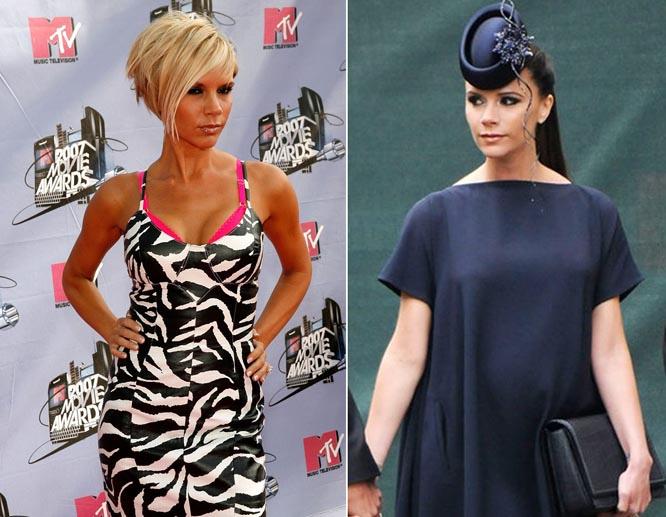 Hành trình lột xác thành biểu tượng thời trang của bà Beck