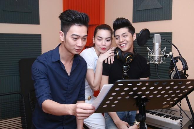 Hà Hồ, Noo Phước Thịnh khoe hit mới ở The Remix