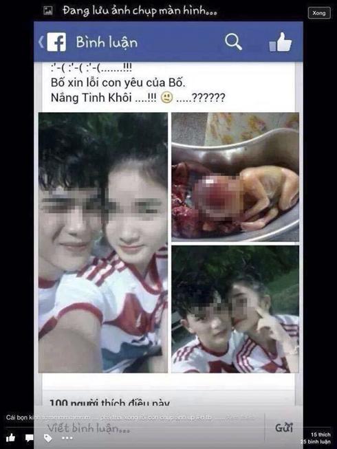 Phẫn nộ cặp đôi 9x khoe chiến tích phá thai trên Facebook