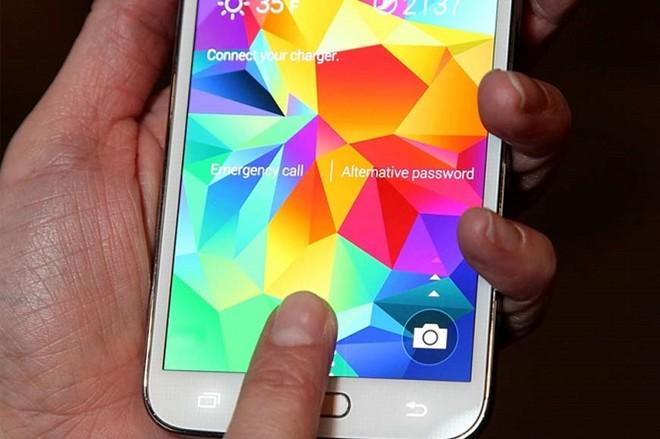 Galaxy S5 dính lỗi bảo mật, giúp hacker sao chép vân tay