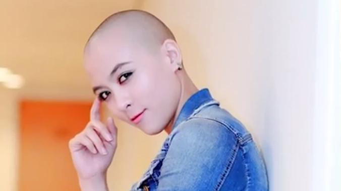 Cô gái cạo đầu trọc gây ấn tượng mạnh với Thanh Bùi ở Idol