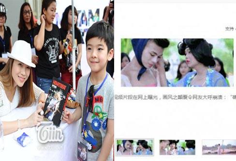 Kenny Sang nổi tiếng ở Trung Quốc; Mỹ Tâm tươi tắn ký tặng fan