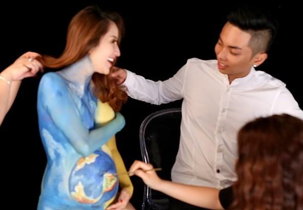 Khánh Thi: 'Gia đình chồng mừng khi tôi mang bầu'