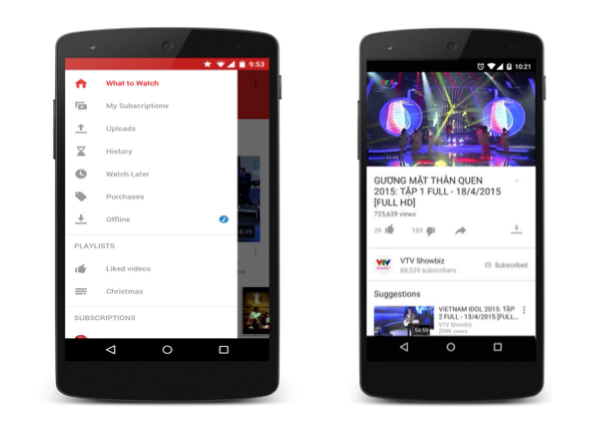 Youtube ra mắt tính năng xem video offline trên di động dành cho người Việt