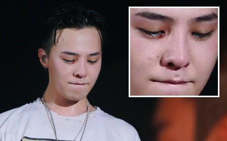 G-Dragon chảy máu mắt trong concert