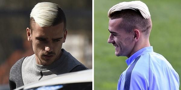 """Thành Madrid """"phát cuồng"""" vì kiểu tóc của Antoine Griezmann"""