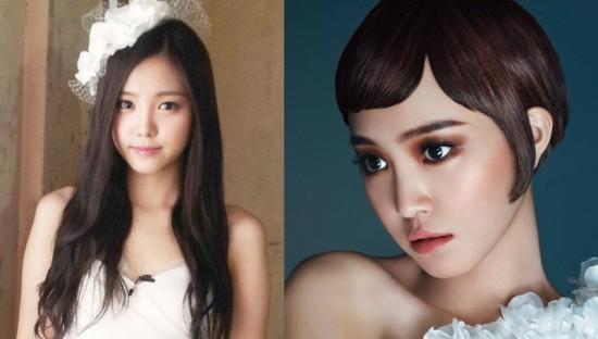 Những sao nữ Hàn Quốc có gương mặt cứng đờ như búp bê