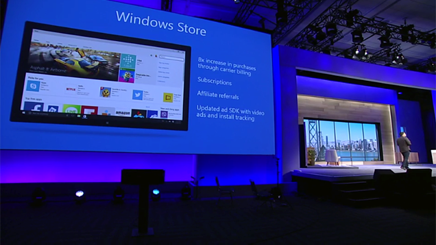 Windows 10 có thể chạy ứng dụng Android và iOS