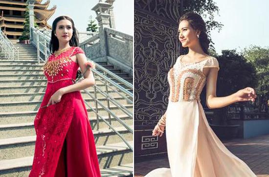 Người đẹp như tiểu thư đài các với thiết kế mới của Tommy Nguyễn