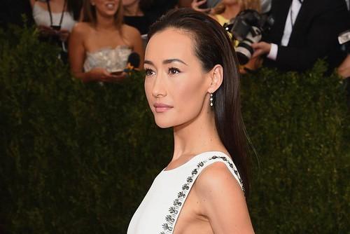 Maggie Q diện áo dài cách điệu trên thảm đỏ Met Gala