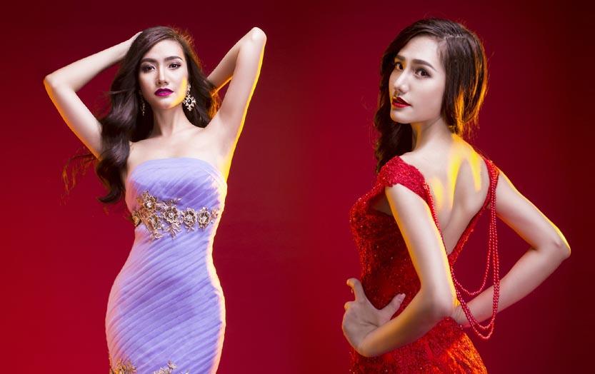 Dương Hiểu Ngọc đẹp lộng lẫy với váy dạ hội mới của Tommy Nguyễn