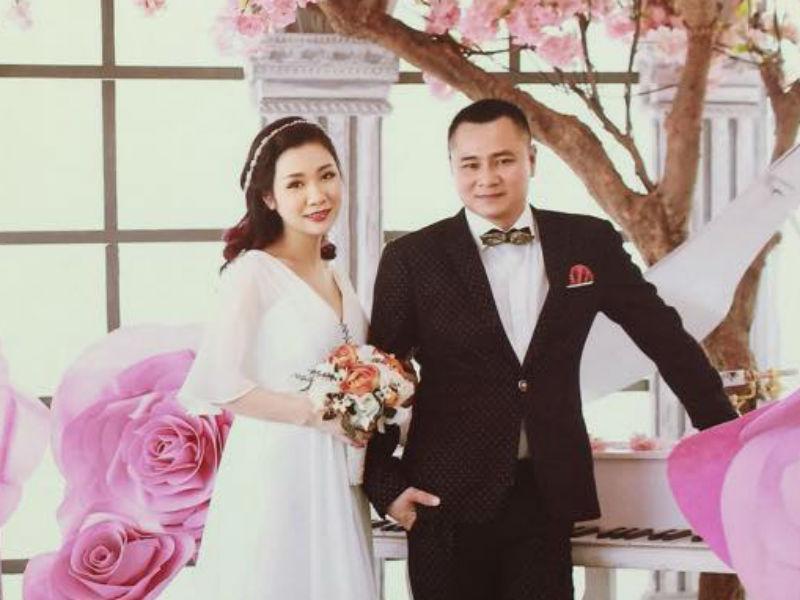 Không gian tiệc cưới lần hai của Tự Long