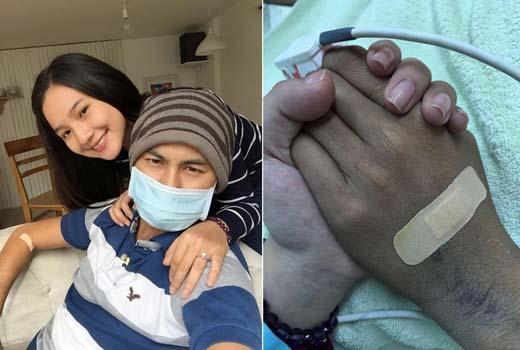 Vợ nắm chặt tay Duy Nhân suốt đêm cuối cùng