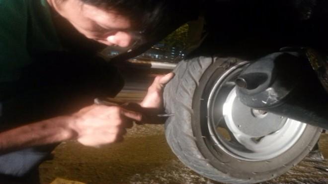Vụ 'phá xe kiếm tiền': Đề xuất phạt 3 điểm sửa xe