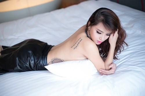 Ý nghĩa những hình xăm trên cơ thể mỹ nhân Việt