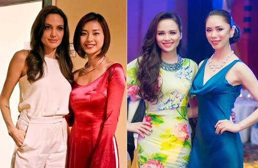 Những lần người đẹp Việt đọ sắc với sao ngoại