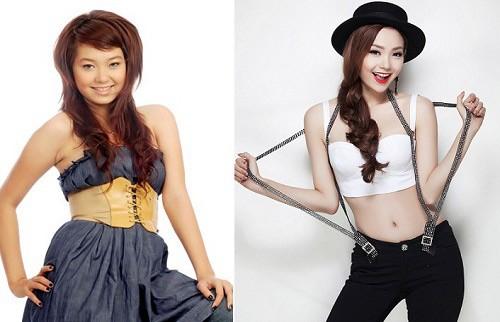 5 giọng ca nữ Vbiz 'lột xác' sau khi giảm hơn 10 kg