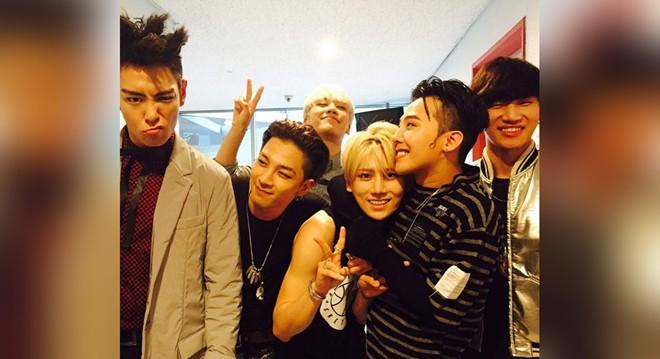 Big Bang xuất hiện với đội hình 6 thành viên