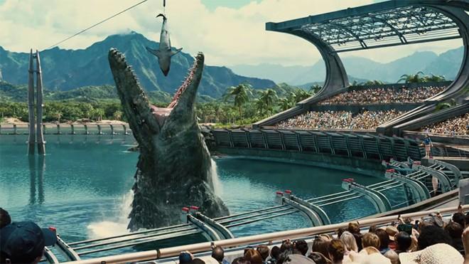 10 lần loài khủng long tấn công màn ảnh