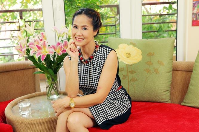 Diễn viên Vân Anh làm khách mời talkshow