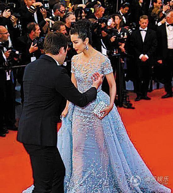Lý Băng Băng bị an ninh đuổi khỏi thảm đỏ Cannes
